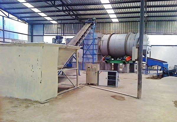 湖南长沙沙子烘干机生产现场